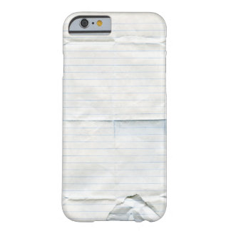 Notebook Paper Case Barely There iPhone 6 Case