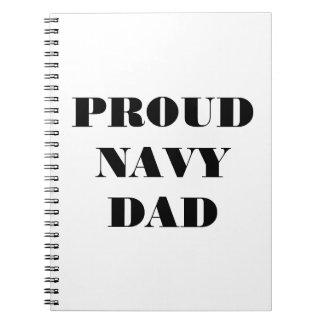 Notebook Proud Navy Dad