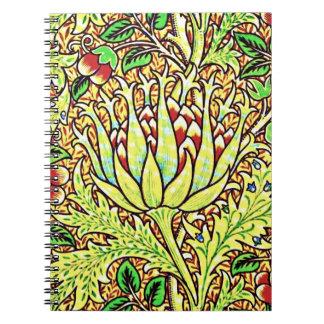 Notebook-Vintage Fabric Fashion-William Morris 14