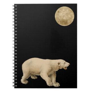 Notebook with arctic polar bear