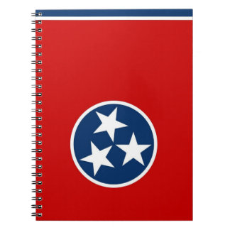 Notebook with Flag of Tennessee State