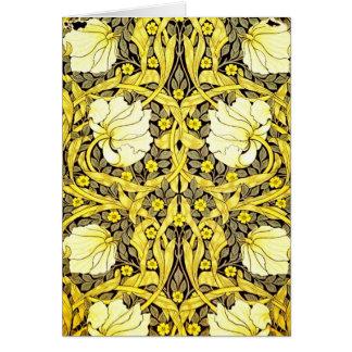 Notecard-Vintage Fabric Fashion-William Morris 16 Cards