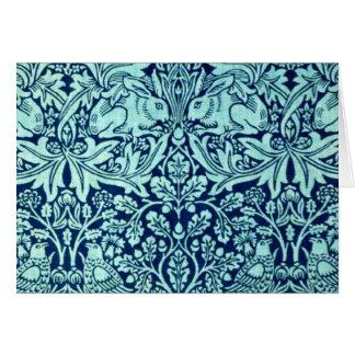 Notecard-Vintage Fabric Fashion-William Morris 25 Cards