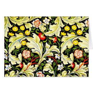 Notecard-Vintage Fabric Fashion-William Morris 3 Card
