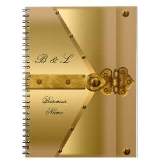 Notepad Business Gold Notebook