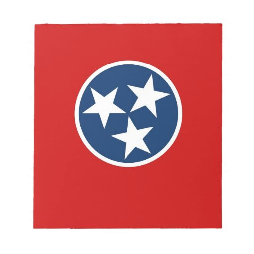 Notepad with Flag of Tennessee State