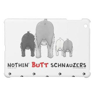 Nothin' Butt Schnauzers iPad Case