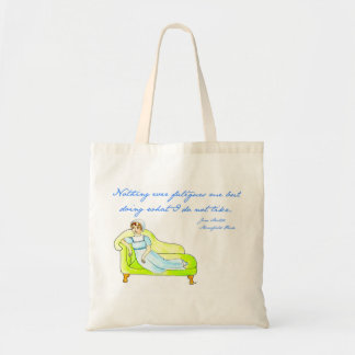 Nothing Ever Fatigues Me - Jane Austen Tote Bag
