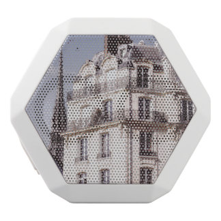 Notre Dame and Parisian Architecture White Bluetooth Speaker