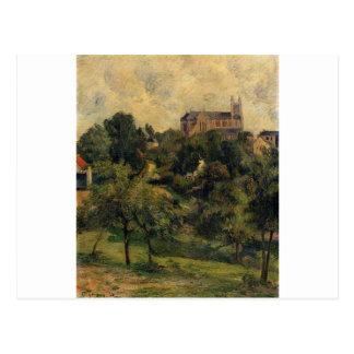 Notre Dame des Agnes by Paul Gauguin Postcard