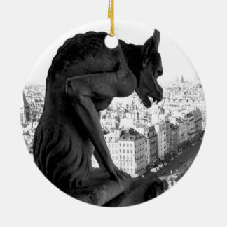 Notre Dame Gothic Gargoyle Ornament