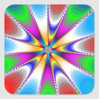 Nova Julia Square Sticker