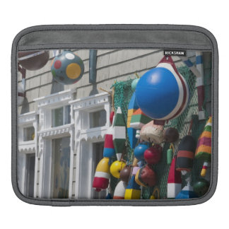 Nova Scotia, Canada. Buoy shop in  Blue Rocks in iPad Sleeve