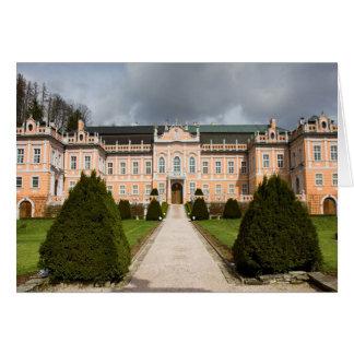 Nove Hrady Castle, Bohemia, Czech Card