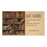 novelist book writer author business card