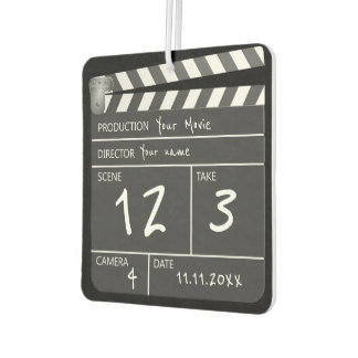 Novelty Personalized Unique Movie Clapperboard