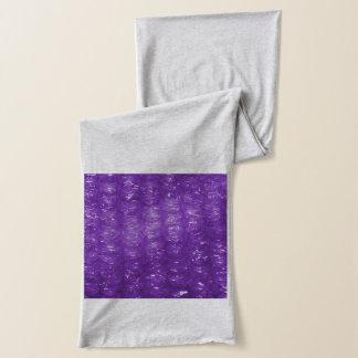 Novelty Purple Bubble Wrap Look