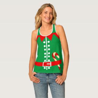 Novelty Santas Elf Costume Singlet