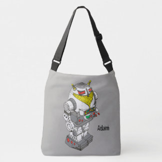 Novelty Toy Robot Cross-Body Bag