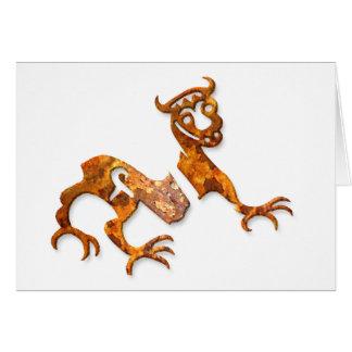 Novgorod Dragon rust Card