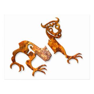Novgorod Dragon rust Postcard
