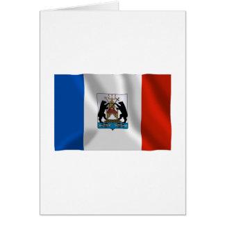 Novgorod Oblast Flag Card