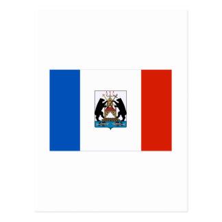 Novgorod Oblast Flag Postcard