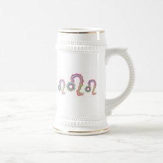 NOVINO Leo Star Family - Fine Tatoo Art Coffee Mugs