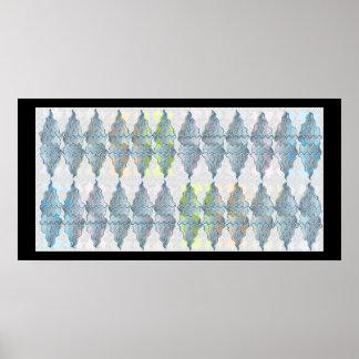 NOVINO Light Crystal Spark Patterns 6 Poster