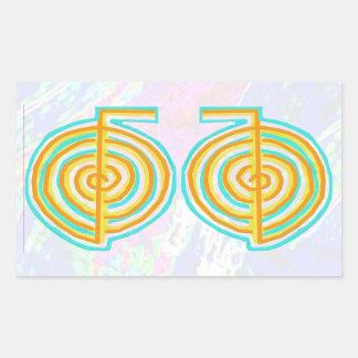 NOVINO ReikiHealing n KARUNA Reiki Symbols Stickers
