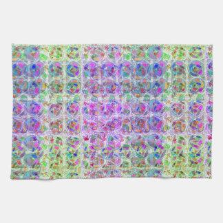 NOVINO Texture Pattern Meet Greet Gifts  doonagiri Tea Towel