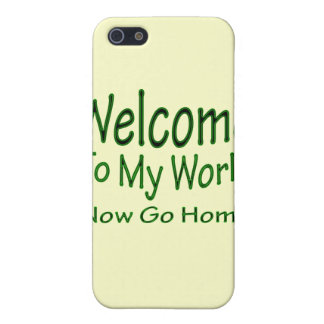 Now Go Home grn iPhone 5/5S Cover