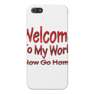 Now Go Home red iPhone 5 Covers