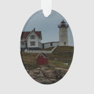 Nubbles Lighthouse Ornament