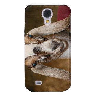 Nubian Dairy Goat Doe White Stripe Caprine Galaxy S4 Case