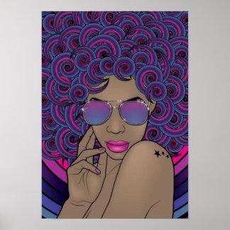 Nubian Diva Poster