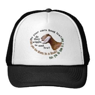 NUBIAN GOAT - DO YOUR EARS HANG LOW MESH HAT