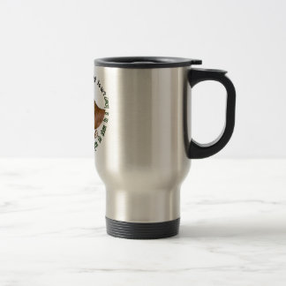 NUBIAN GOAT - DO YOUR EARS HANG LOW? STAINLESS STEEL TRAVEL MUG
