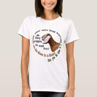NUBIAN GOAT - DO YOUR EARS HANG LOW? T-Shirt