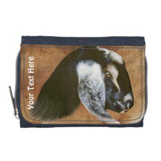 Nubian  Goat Photo  Wallet