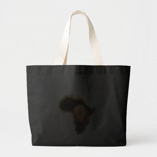 Nubian Goddess Canvas Bag