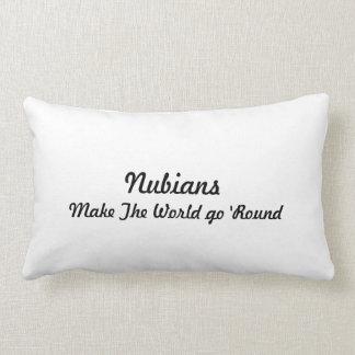 Nubian Head in Heart Throw Cushions