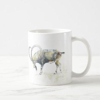 Nubian Ibex 2008 Basic White Mug