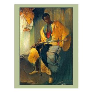 Nubian Man by Franciszek Zmurko Postcard