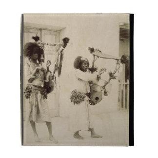 Nubian Musicians (sepia photo) iPad Folio Case