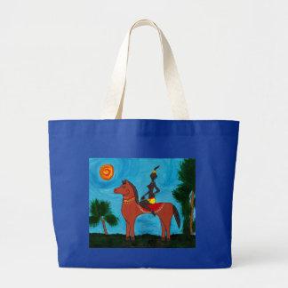 Nubian Princess Tote Bags