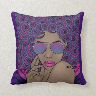 Nubian Princess Decorative Pillow Cushion