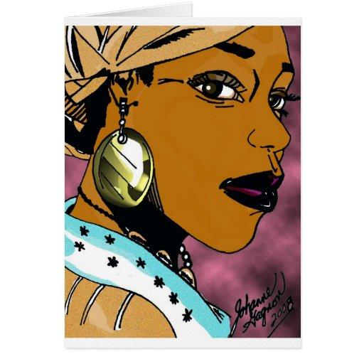 Nubian Queen Card