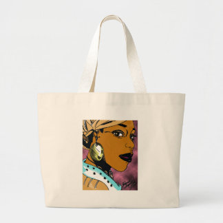 Nubian Queen Large Tote Bag