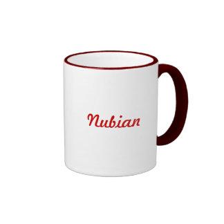 Nubian Ringer Mug